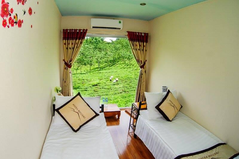 Khám phá khu nghỉ dưỡng kiểu mới - Mộc Châu Arena Village