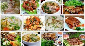 nền ẩm thực hấp dẫn khi đi du lịch Nha Trang