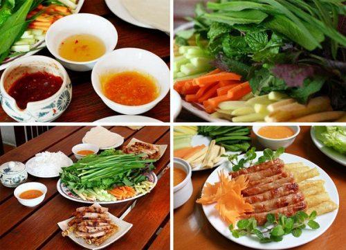 Nem nướng - đặc sản ẩm thực của Nha Trang
