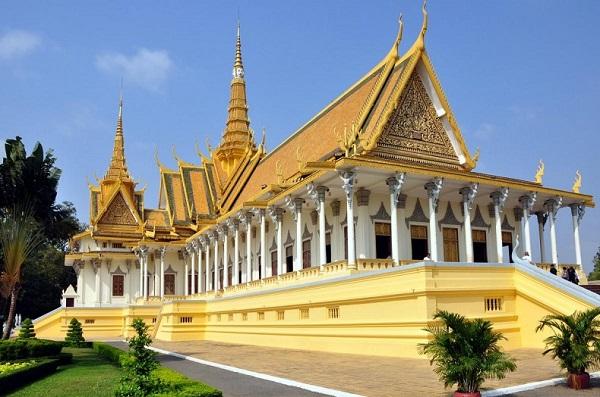 Các kiến trúc độc đáo nên đến khi đi tour du lịch Campuchia